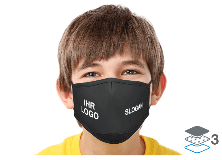 Junior - Schutzmasken Bedrucken Lassen