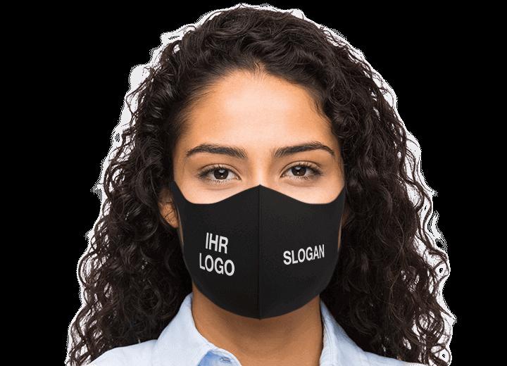 Neo - Mundschutzmaske mit Logo