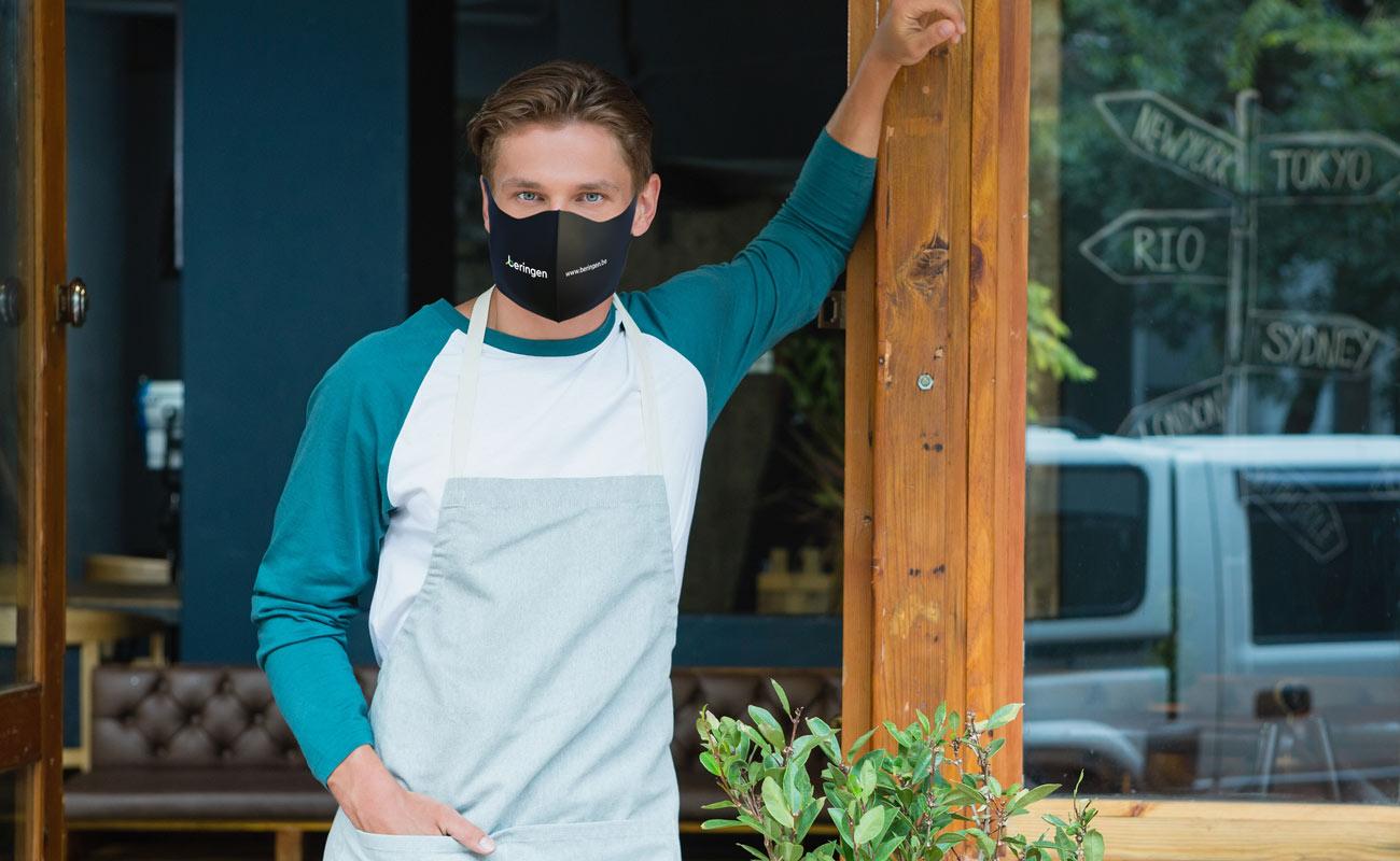 Neo - Mundschutzmasken mit Logo